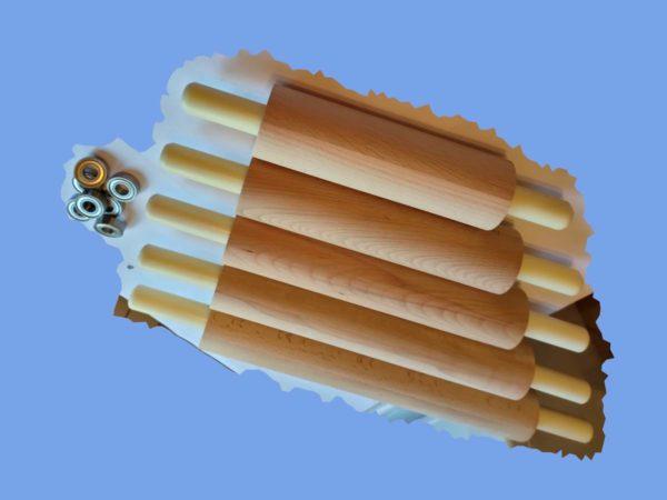 Купить деревянную скалку из бука