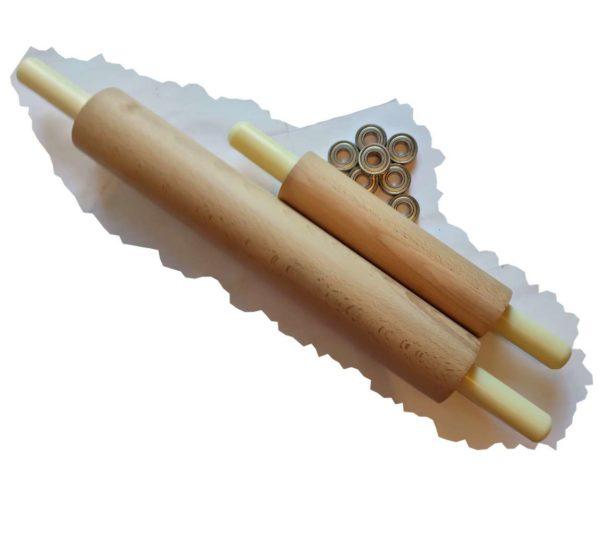 купить деревянную скалку из бука на подшипниках в спб