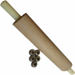 скалка для теста деревянная длинная большая