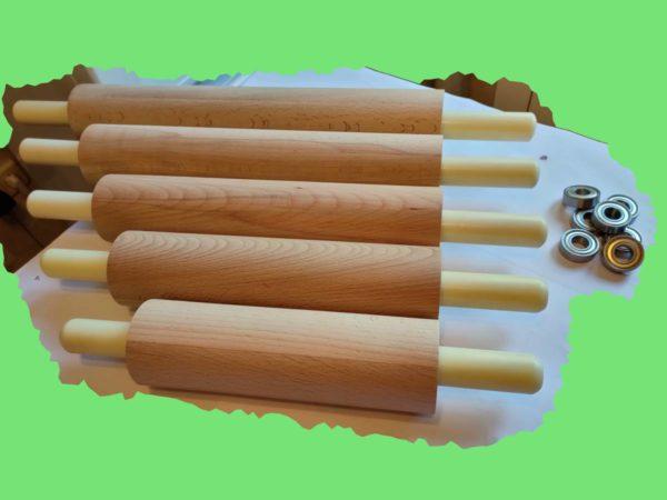Скалка деревянная из бука фото