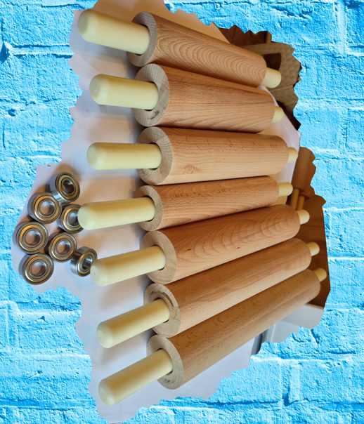 Скалки деревянные из бука